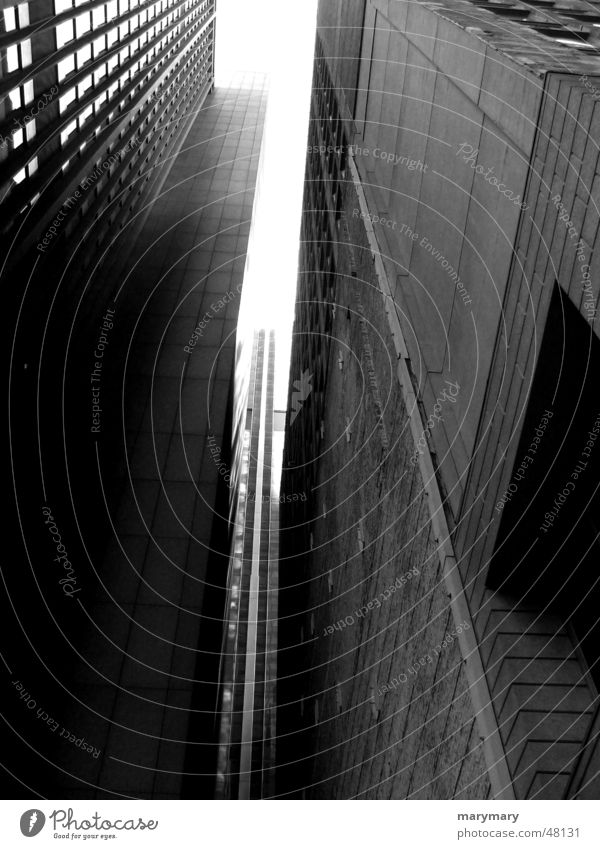 Feeling small Hochhaus New York City