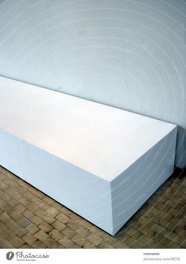 white weiß Dinge Holz Häusliches Leben Bank Lautsprecher sitzen zkm