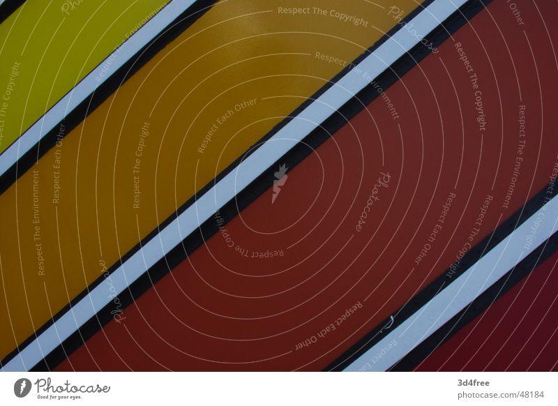 Rotbox rot gelb rosa Physik weiß schwarz Stahl Blech Anstreicher Kontrast Momentaufnahme orange Wärme Farbe Container Metall color red einfach