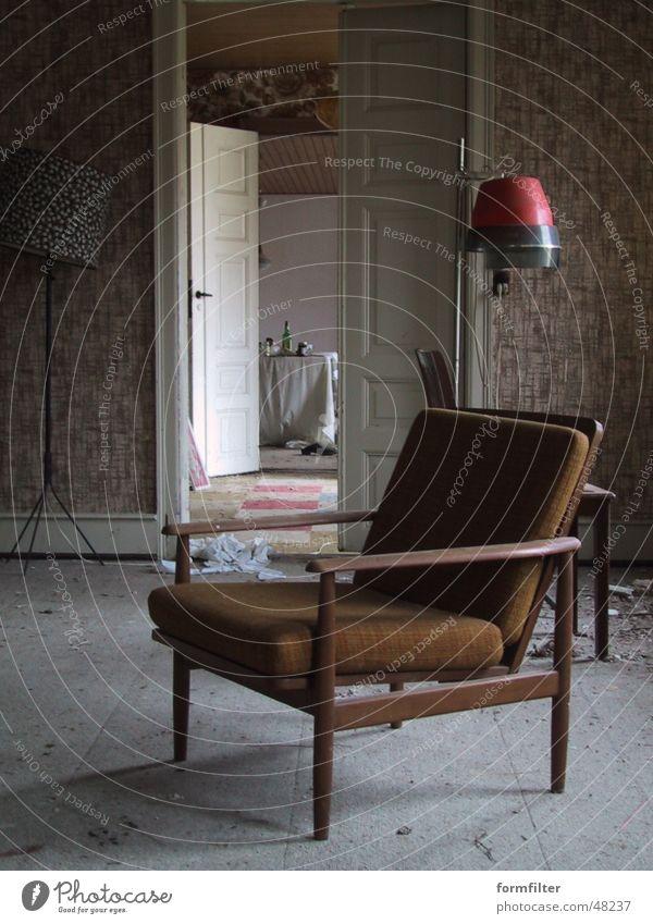 mifune's living room Wohnzimmer Sessel Haartrockner Drehort