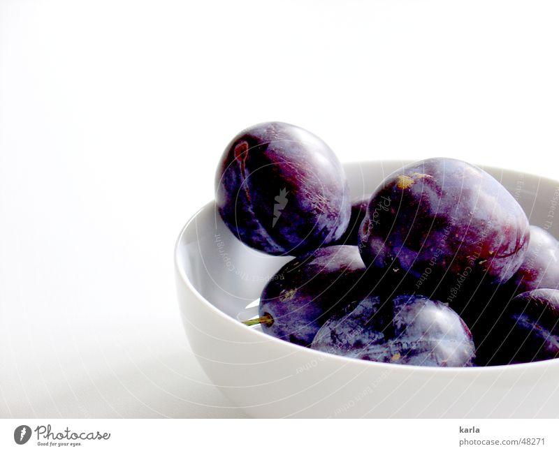 china gets the blues blau Herbst Gesundheit Frucht süß violett Geschirr lecker Vitamin Schalen & Schüsseln Bioprodukte fruchtig Pflaume