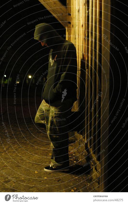 abwarten Einsamkeit Traurigkeit Hoffnung Trauer Wunsch Typ Gewicht Kerl