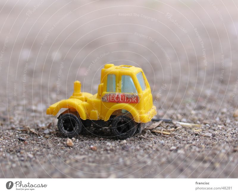 Little Truck Ferien & Urlaub & Reisen gelb Kunst Design Lastwagen diffus