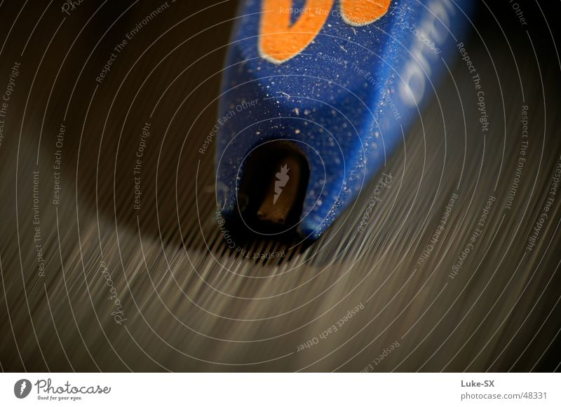 concorde Schallplatte Diskjockey Furche Makroaufnahme turntable Tonabnehmer Plattenteller