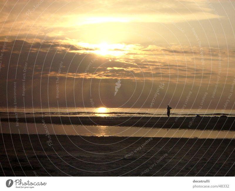 sehnsucht Natur Meer ruhig Ferne Freiheit Romantik Sehnsucht Fernweh Abenddämmerung Digitalfotografie