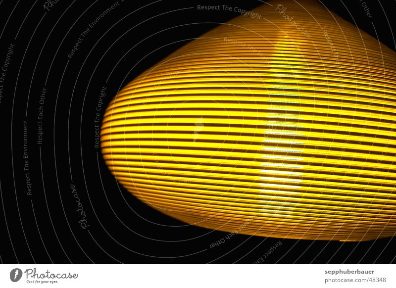 s.h.a.d.o.w. - ufo im anflug gelb hell Weltall UFO Lampenschirm