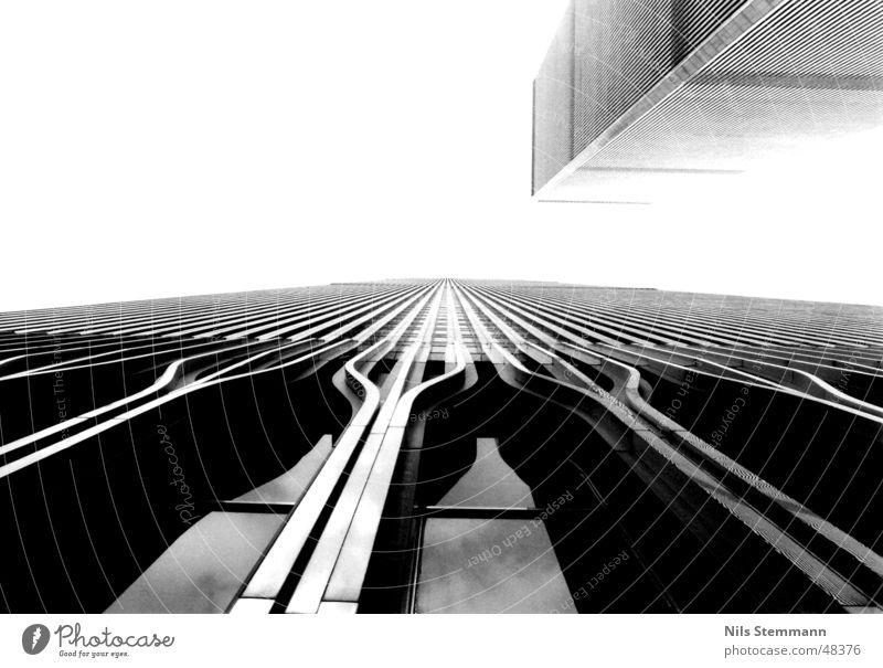 World Trade Center New York City Terror Ground Zero 9/11 Schwarzweißfoto manhatten