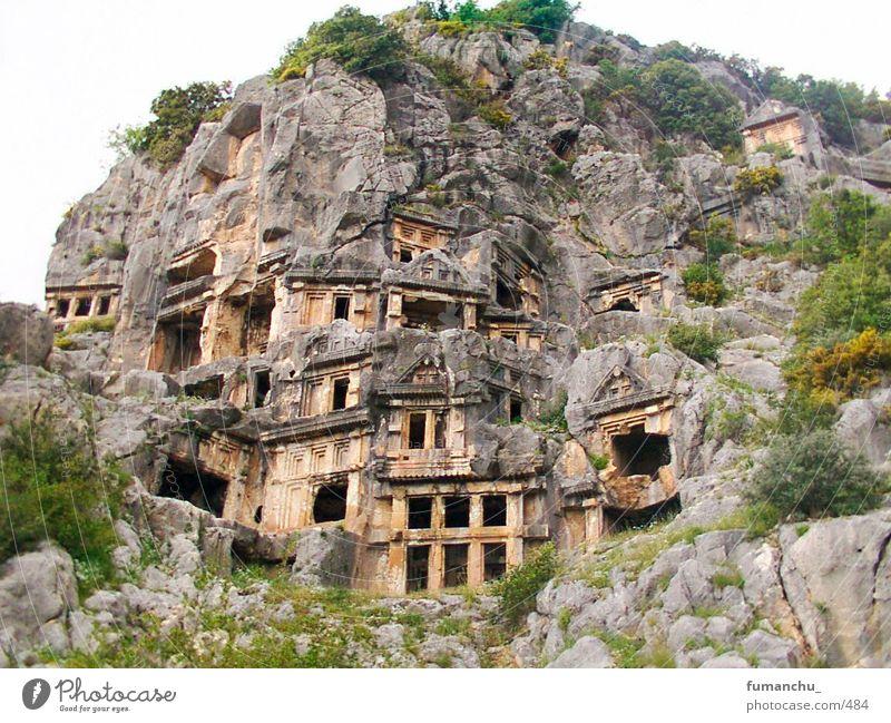 Felsengräber Türkei Myra lykische Felsgräber