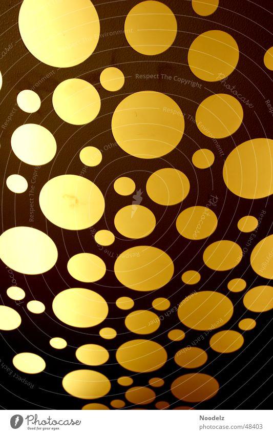 Blubbers gelb orange Kreis Fahrstuhl