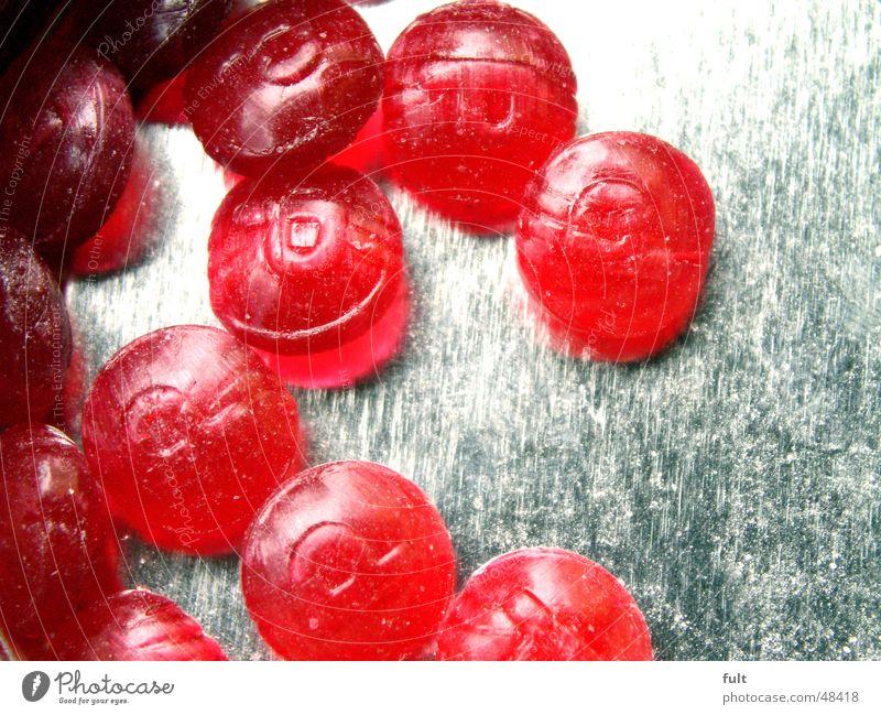drops rot Metall liegen rund genießen Bonbon Dose Blech Kirsche lutschen