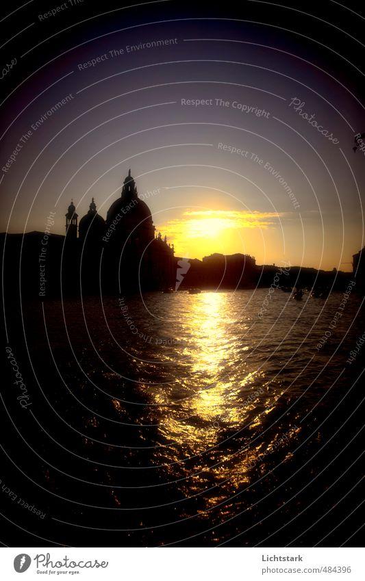 Venedig - träume doch mal Ferien & Urlaub & Reisen Tourismus Ausflug Kreuzfahrt Hochzeit Kunst Architektur Umwelt Natur Wasser Himmel Stadt Hafenstadt Altstadt