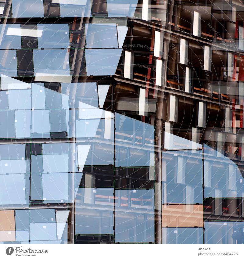 Sanierung Lifestyle elegant Stil Design Architekt Bauwerk Gebäude Architektur Fassade Fenster Geometrie Grafik u. Illustration Linie außergewöhnlich trendy