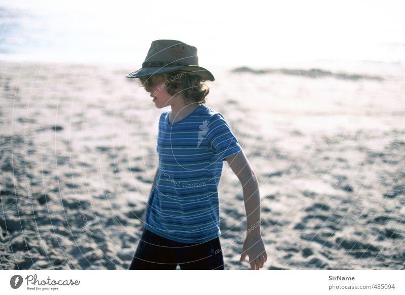 241 [at the beach] Mensch Kind Natur Ferien & Urlaub & Reisen Erholung Strand Ferne Wärme Leben Junge Freiheit natürlich Freizeit & Hobby Idylle Kindheit Zufriedenheit