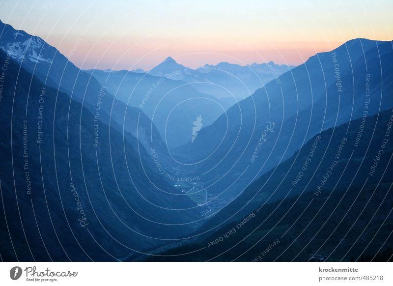 Levant Umwelt Natur Landschaft Erde Himmel Wolken Horizont Sonnenaufgang Sonnenuntergang Hügel Felsen Alpen Berge u. Gebirge Gipfel Schneebedeckte Gipfel