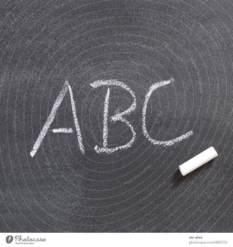 wir wollen lernen das abc Schule Schriftzeichen lernen Studium Telekommunikation lesen Bildung schreiben Erwachsenenbildung Wissenschaften Schüler Tafel Wort Berufsausbildung Kreide Kindererziehung