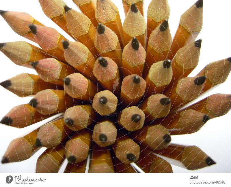 Super-verbleit Schreibstift Bleistift Holz Graphit schwarz Information Text Witz publizieren Zoomeffekt gelb Stillleben Image Körperhaltung officepoesie