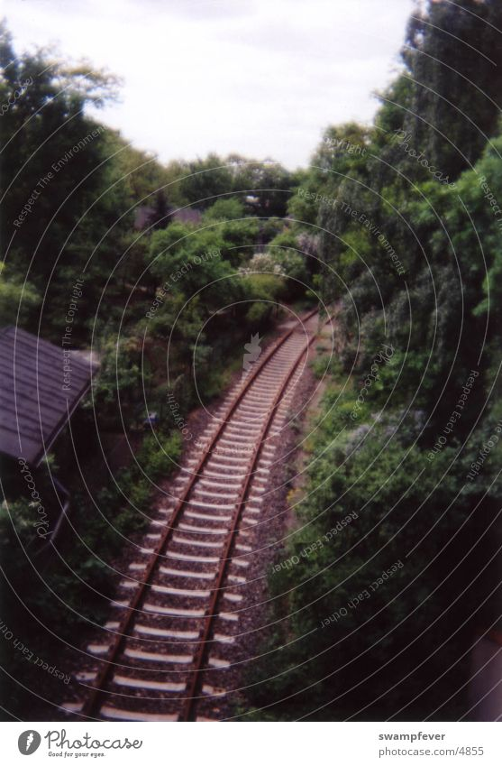 Railroad Natur Wege & Pfade Eisenbahn Gleise