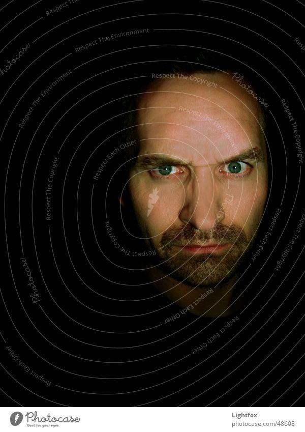 Der Prinz den Sie Pferdi nannt Mensch Mann Gesicht Auge dunkel Angst Nase gruselig Bart Digitalfotografie Schrecken Monster