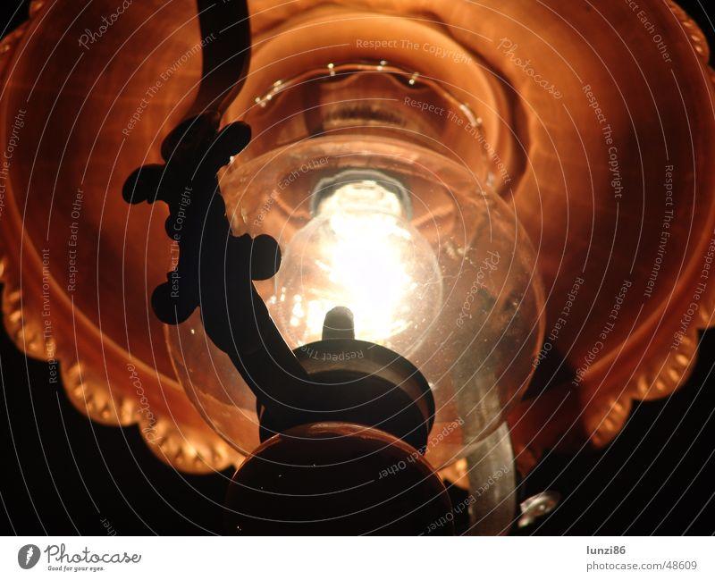 FeuerLampe alt dunkel hell Beleuchtung Küche Laterne Glühbirne grell Lampenschirm verdunkeln Leuchtkörper aphotisch