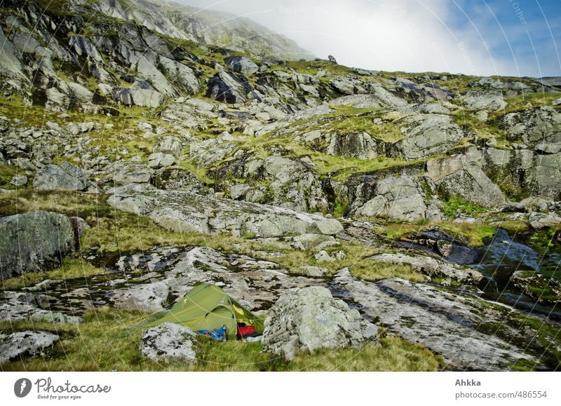 Suchbild Himmel Natur Ferien & Urlaub & Reisen Erholung Einsamkeit Landschaft ruhig Ferne Berge u. Gebirge Freiheit Felsen Horizont träumen Stimmung