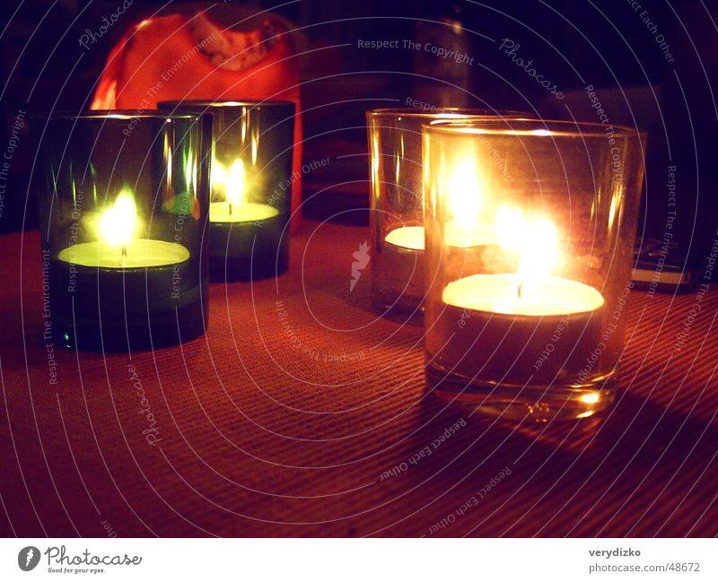 Romantik Teelicht Kerzenschein mehrfarbig Licht Physik Stimmung Wärme romantsich