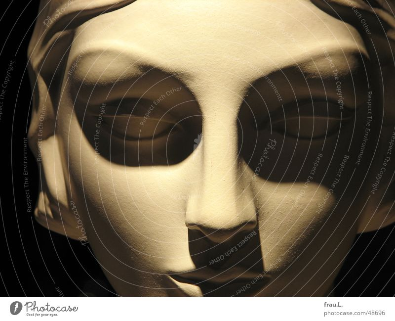 leerer Blick Frau schön Gesicht Auge feminin elegant Dekoration & Verzierung Dinge Puppe Skulptur klassisch Schaufensterpuppe Schaufenster