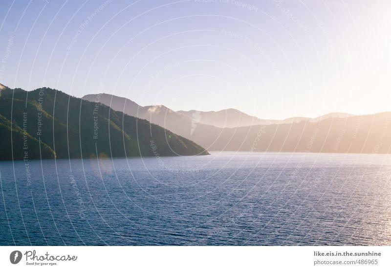 reisen erweitert den horizont Natur Ferien & Urlaub & Reisen Sommer Meer Landschaft Ferne Wald Umwelt Berge u. Gebirge Küste Freiheit Freizeit & Hobby Wellen Tourismus Schönes Wetter Ausflug
