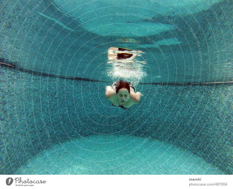 Badenixe Freizeit & Hobby Ferien & Urlaub & Reisen Sommer Sommerurlaub Sport Wassersport Schwimmen & Baden Mensch feminin Junge Frau Jugendliche Erwachsene