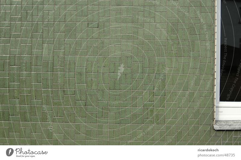 Kachel Wand grün Muster Fliesen u. Kacheln Strukturen & Formen Architektur