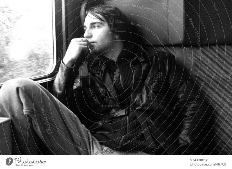 """""""Wann sind wir endlich da?!"""" Fenster träumen Eisenbahn Langeweile"""