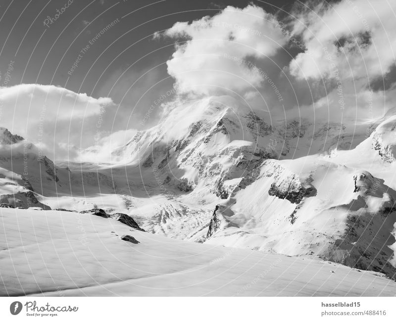 matterhorn Himmel Natur Erholung Landschaft Wolken ruhig Winter Berge u. Gebirge Schnee Sport Gesundheit Zufriedenheit fantastisch Fitness Wellness Wohlgefühl