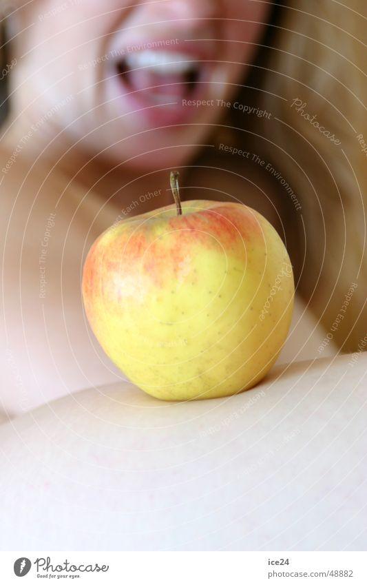 Eva und der Apfel Frucht Appetit & Hunger Paradies Sünde