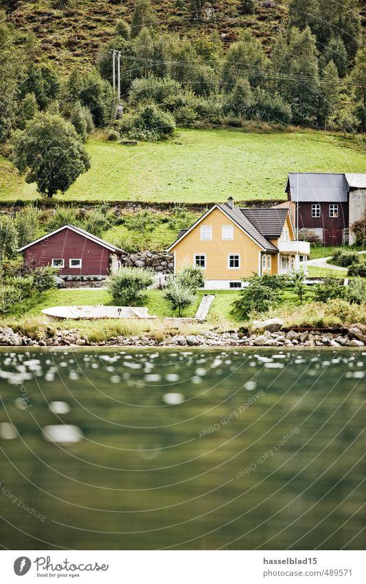 Haus am See Erholung ruhig Leben Küste Stil Glück Schwimmen & Baden Lifestyle Zufriedenheit Tourismus Idylle Ausflug Wellness Wohlgefühl