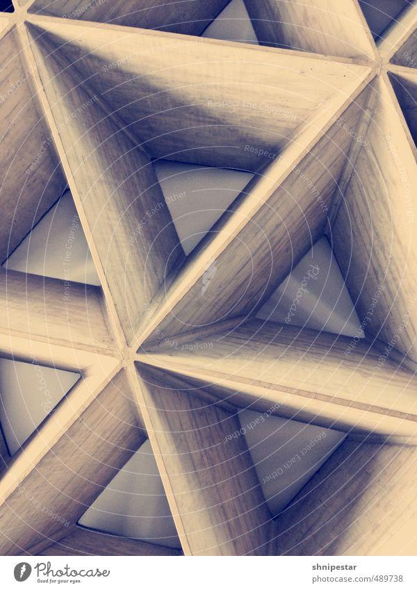 Dreiecksbeziehung Ferien & Urlaub & Reisen Ferne Gebäude Architektur Innenarchitektur Verkehr Design Tourismus modern Luftverkehr Dekoration & Verzierung Beton