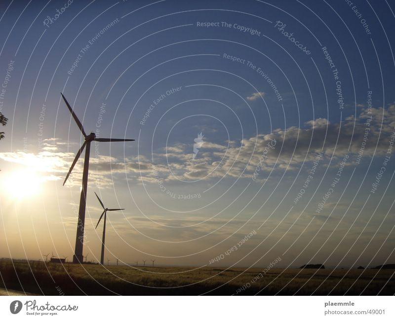Wind Sonne Windkraftanlage Kreis Paderborn