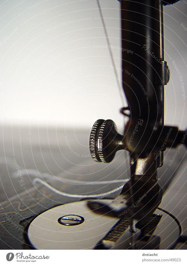 Naehmaschine#2 alt Handwerk Maschine Nähgarn Nadel Nähen Handarbeit Nähmaschine