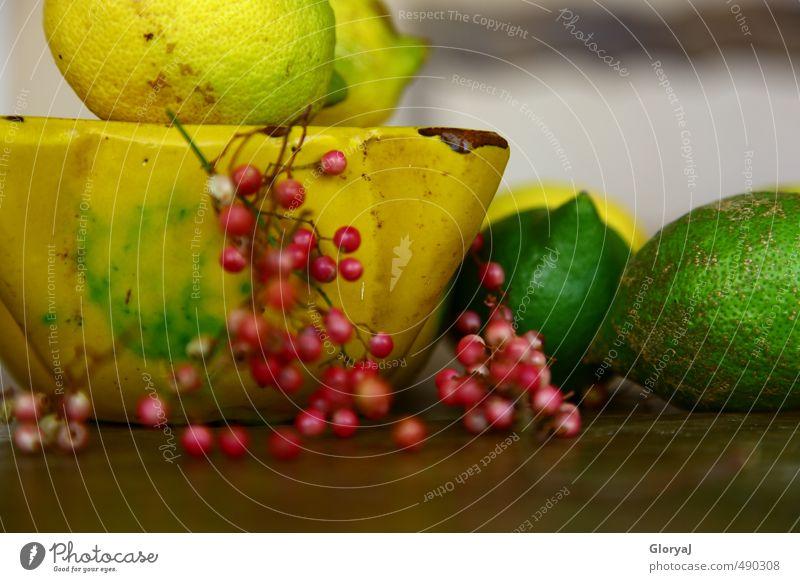 Rosa Pfeffer grün Sommer gelb Gesundheit Stimmung rosa Frucht frisch Ernährung Scharfer Geschmack Stillleben Zitrone sauer Zitrusfrüchte Mörser