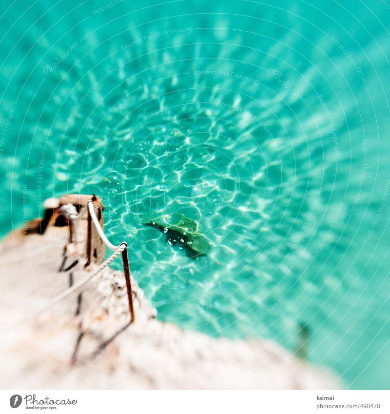 Urlaubsgrüße Freizeit & Hobby Ferien & Urlaub & Reisen Tourismus Ausflug Sommerurlaub Umwelt Natur Landschaft Wasser Sonnenlicht Schönes Wetter Felsen Wellen