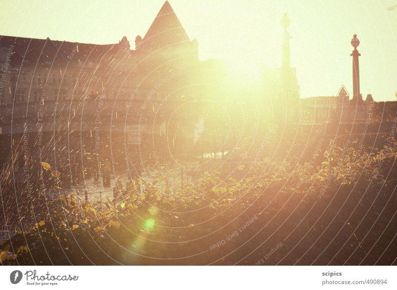 sunny Day Natur Ferien & Urlaub & Reisen Stadt Wasser Sonne Baum Erholung Landschaft Umwelt Herbst Architektur Gebäude Stil Wetter Park Klima