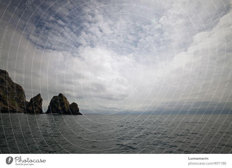 Ausläufer Himmel alt Wasser Meer Einsamkeit Landschaft Wolken Ferne dunkel Umwelt Wege & Pfade Küste Freiheit Zeit Felsen Horizont