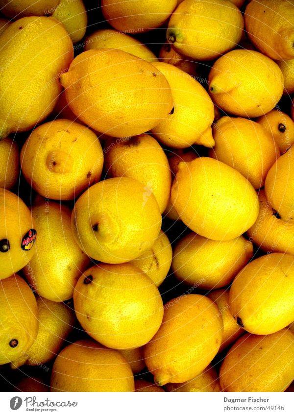 so viele zitronen Farbfoto Lebensmittel Frucht Vegetarische Ernährung Winter Gastronomie lecker lustig Wut gelb Ärger Zitrone Cocktail Vitamin C Handzettel