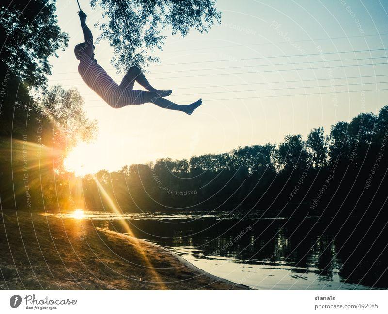 Froodzan Freude Leben Schwimmen & Baden Ferien & Urlaub & Reisen Abenteuer Freiheit Sommer Sommerurlaub Sonne Mensch maskulin Mann Erwachsene Umwelt Natur