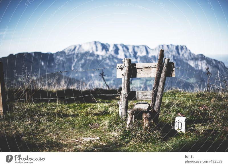 Hindernis Natur Landschaft Berge u. Gebirge Gefühle Stimmung Klima authentisch Schönes Wetter Alpen gut