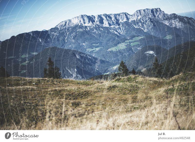Bayrische Alpen Natur Landschaft Wolken Umwelt hell Stimmung Luft Wetter Schönes Wetter gut