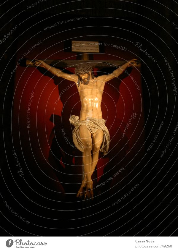 Oh Jesus Religion & Glaube Rücken Jesus Christus Gott Christentum Götter