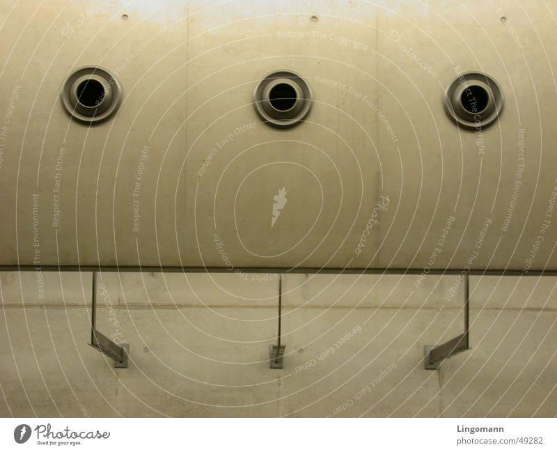Dreiklang Beton 3 Wand Material Techno Hintergrundbild Rhythmus Stadt symetrie Technik & Technologie Architektur