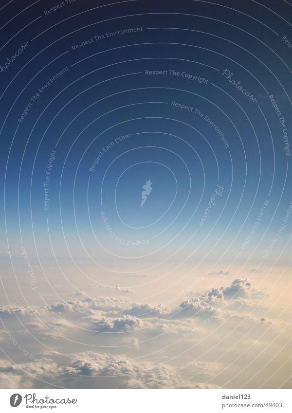 Wolkenmeer Himmel Wolken Stratosphäre