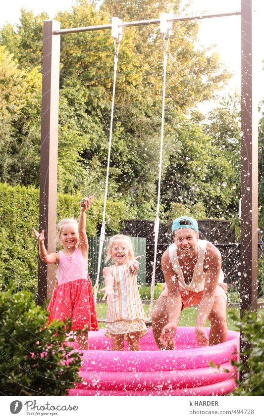 Abkühlung Mensch Sommer Freiheit Glück Gesundheit Familie & Verwandtschaft Zufriedenheit Lifestyle authentisch frisch Fröhlichkeit verrückt einfach Coolness Neugier entdecken