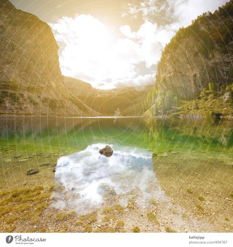 naravni spomenik krnsko jezero Freizeit & Hobby Umwelt Natur Landschaft Pflanze Tier Baum Felsen Alpen Berge u. Gebirge Gipfel Schlucht Küste Seeufer Freiheit