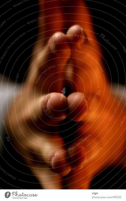 Fingerspitzengefühl Hand Kontakt Fingernagel gestikulieren Intuition Körperteile